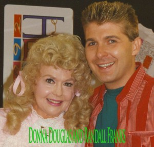 Randall Franks and Donna Douglas at Fan Fair 1992